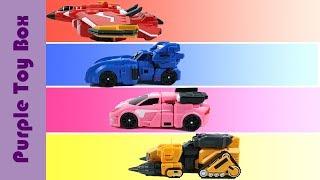미니특공대X 장난감 모음 미니특공대 시즌2 Mini Force X Transformer Toys
