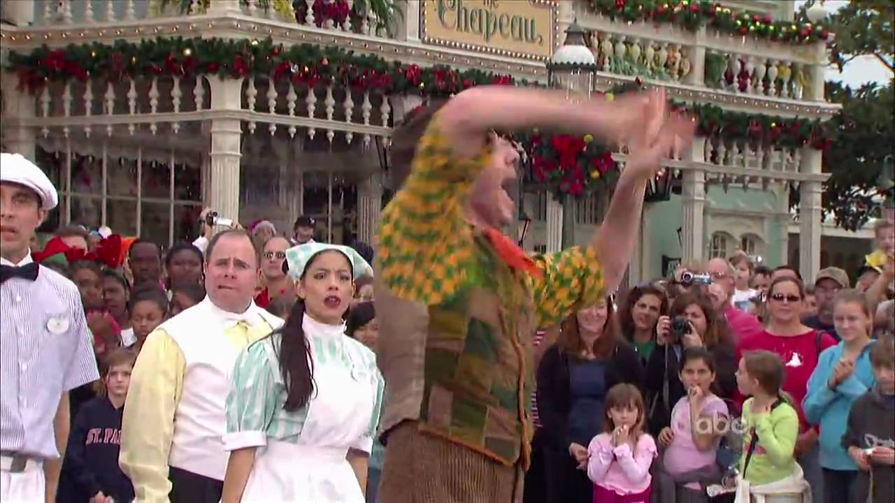Walt Disney World Christmas Day Parade 2008 ...