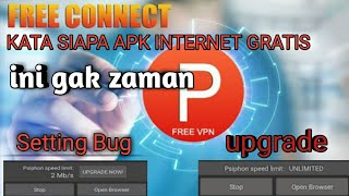 Cara setting bug & upgrade apk internet gratis speed micin 2018