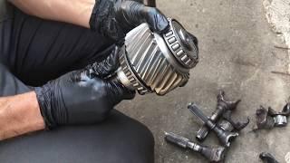 Дефектування, Розбирання, інструкція для ремонту роздатки Mercedes W221