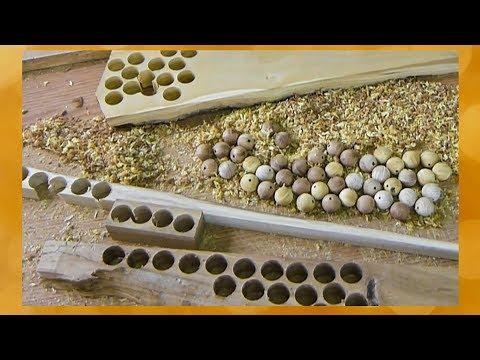 Как быстро сделать деревянные шарики. Приколюха с Алиэкспресс