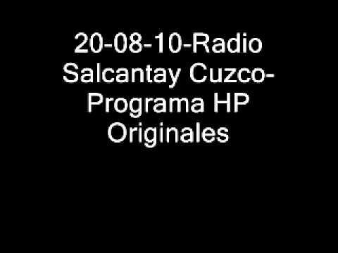 20-08-10-Radio Salcantay Cuzco- HP Originales.wmv