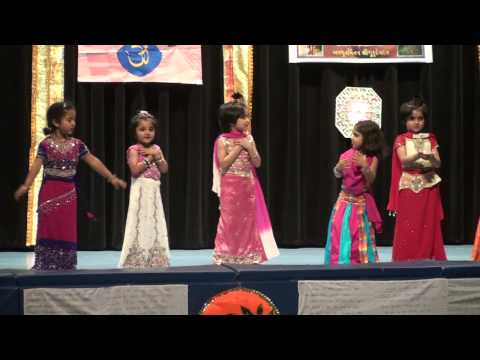 Tum Hi Mata Pita Tum Hi Ho - Birva's First Performance on Stage (Rang Parivaar)