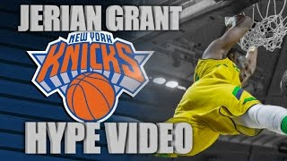 Jerian Grant Knicks Hype Video