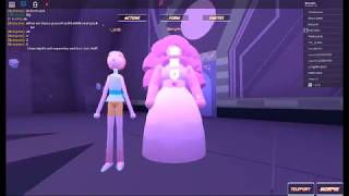 Rose and pearl fusion - roblox / steven universe 3d role play
