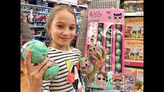 ЛОЛ ШАРИКИ ОБЛОМ В МАГАЗИНЕ! ВЛАДА ПОКУПАЕТ LOL SURPRISE покупки игрушек