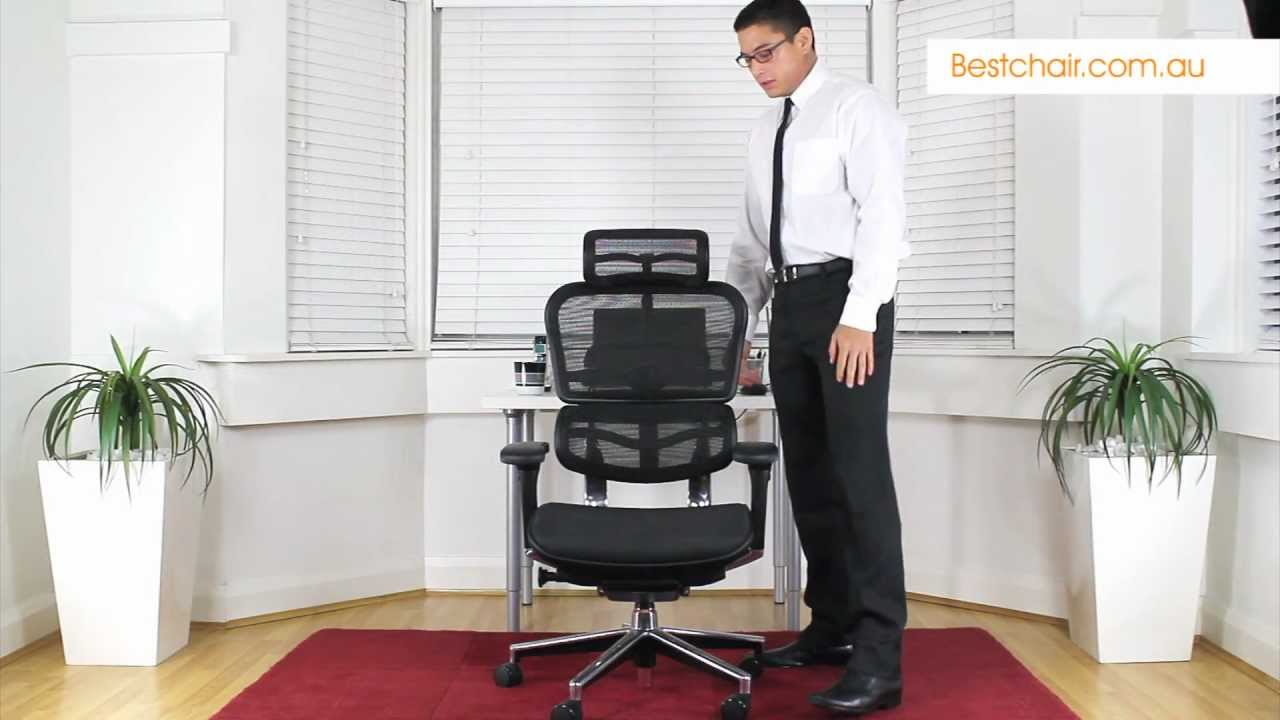 Ergohuman Mesh Office Chair Review by Bestchair - YouTube