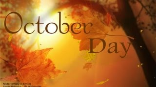 Watch Nikki Hornsby October Day video