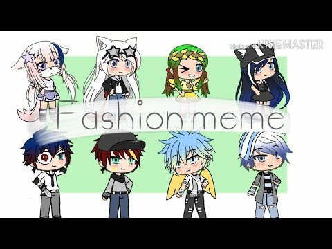 Fashion Meme///Gacha Life///CountryHumans///