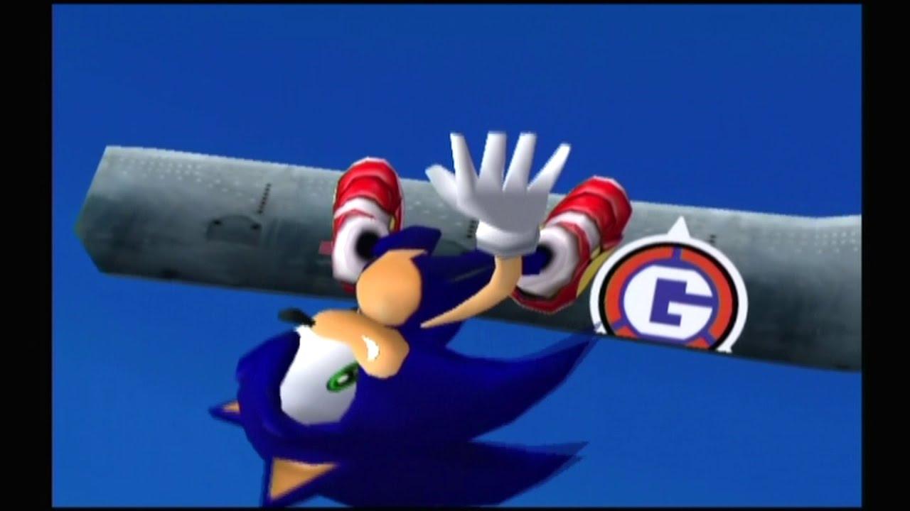 Sonic Adventure 2 Dreamcast Hero Story