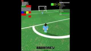 Roblox: Manchester United 0-1 Manchester City Highlights 29/08/2012