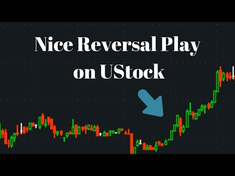 Nice Reversal Play on UStock (Live Trade Video) - Live Small Account Day Trading
