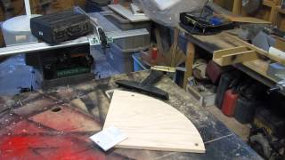 Drawing Desk Project: Screwing not Gluing and Routing Arcs