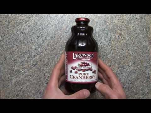 Lakewood Pure Cranberry Juice Review