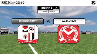 FOOTBALL ROUND 7 SENIOR RESERVES vs WARRANDYTE