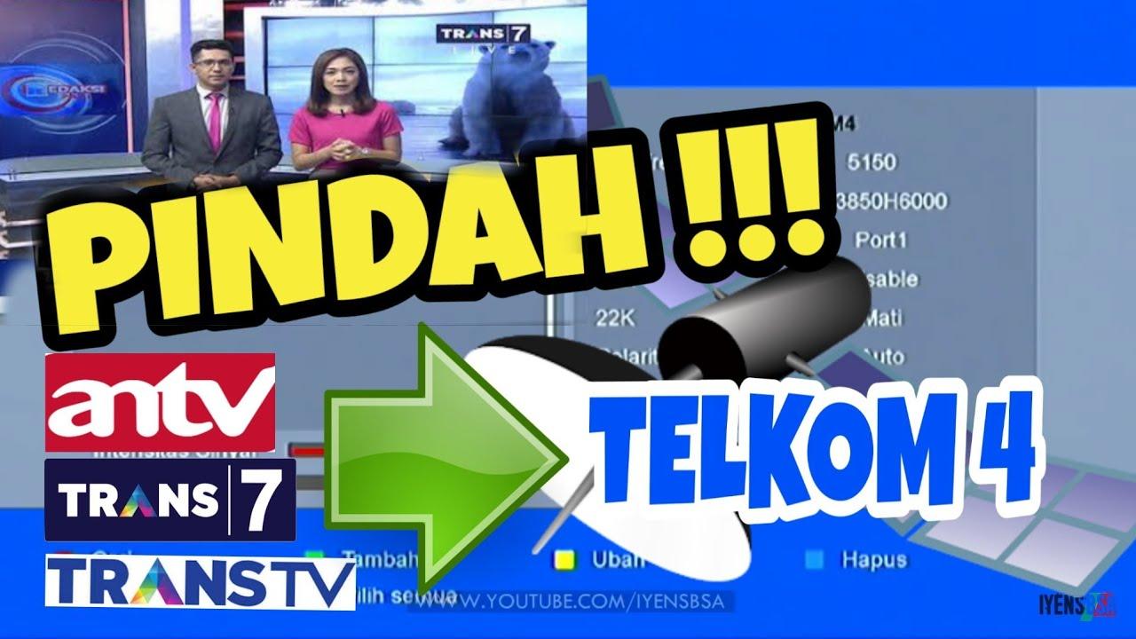 Cara Mengatasi Siaran TRANS TV TRANS7 ANTV Hilang Satelite ...