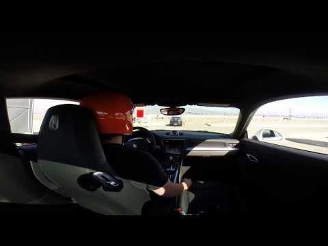 First Time Autocross - Speed Ventures - Fontana Auto Club Speedway in Porsche 991