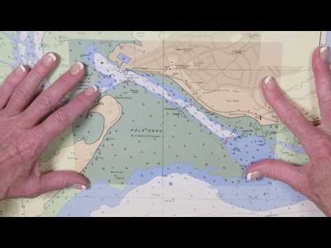 Applying an NM block to an ADMIRALTY Standard Nautical Charts