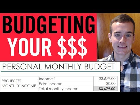 How To Create A Monthly Budget 💸 (Excel Budget Template)