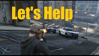 Let's Help on GTA5 PC  - HOW TO Auto-Aim (Target Lock-On) - NOELonPC