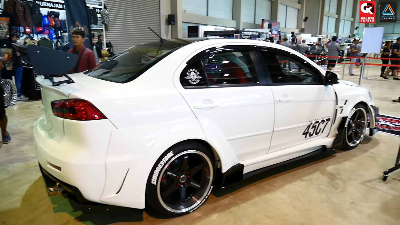 Mitsubishi Lancer GT Wide Body by Chemical Guys - Borneo ...