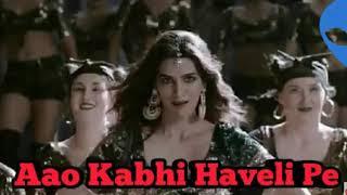 Aao Kabhi Haveli Pe | stree | mp3 song | Badshah | kriti sen | latest Bollywood mp3 song