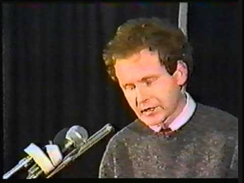 Martin McGuinness 1986 Ard Fheis speech