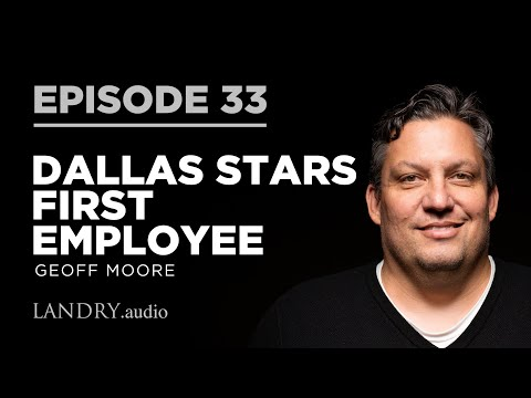 Hockey history for Dallas Stars fans - I speak with the franchise's first employee Geoff Moore who spent almost 20 years with the team. He takes us through how they marketed the club, the infamous Mooterus jersey, and how heavy metal band Pantera helped the Stars win the 1998-99 Stanley Cup.