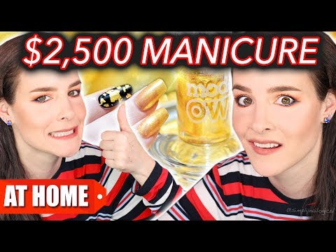 Download Youtube: $25 Manicure Vs. $2,500 Manicure (DIY at Home!)