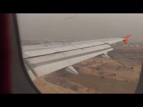 Hyderabad Pune Flight Landing