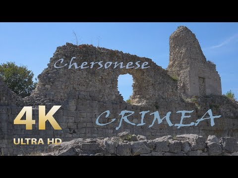 Chersonese ~ an ancient Greek city in the Crimea 4K UHD