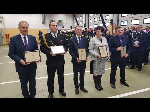 4 Nowe samochody dla OSP: Jantar,  Nowa Kościelnica, Lubieszewo i Nowy Dwór Gd.- 18.12.2017 -1
