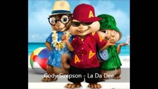 Repeat youtube video Cody Simpson - La Da Dee (Version Chipmunks)