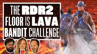 Red Dead Redemption 2 Bandit Challenge - THE FLOOR IS LAVA: HORSE EDITION