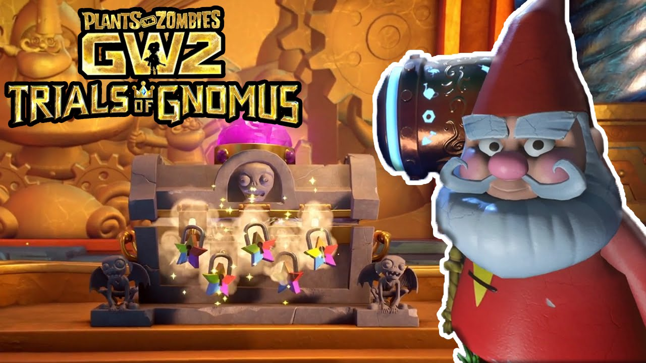 The Red Trial Soloution Walkthrough Plants Vs Zombies Garden Warfare 2 Youtube