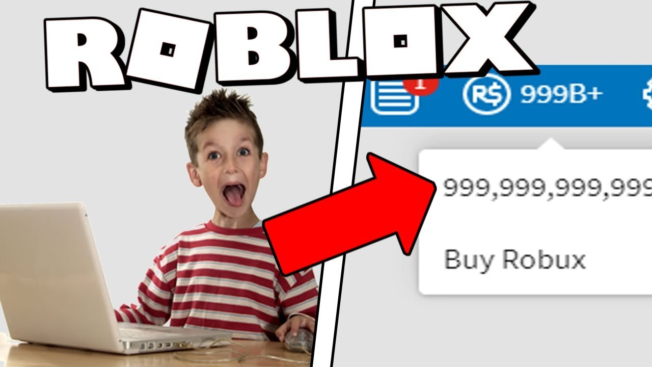 this kid hacked 999 billion robux for free... - YouTube