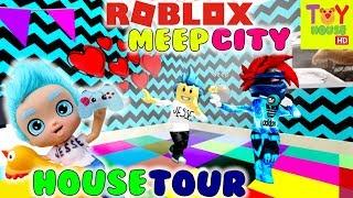 Jesse Roblox MeepCity House Tour & Festa con Subs!