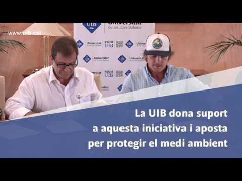 La Universitat de les Illes Balears signa un acord de col·laboració amb l'empresa Seabin Project