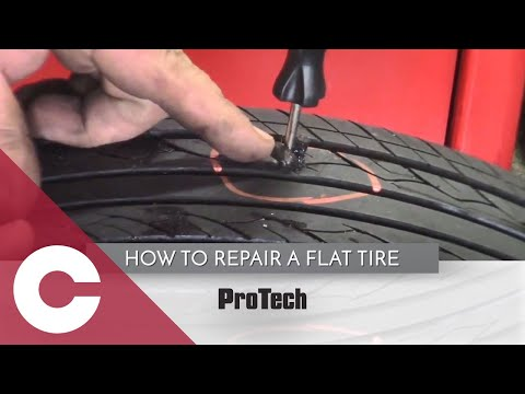 How to Repair a Flat Tire by Thomas Mulkey
