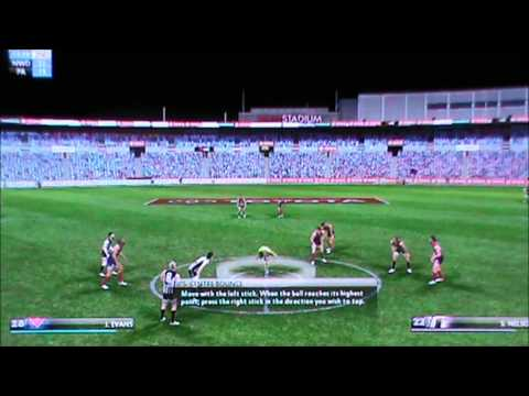 Norwood vs Port Adelaide Magpies (custom teams - SANFL - AFL Live 2012)