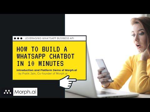 Introduction & Platform Demo of Morph.ai - the WhatsApp Engagement Platform