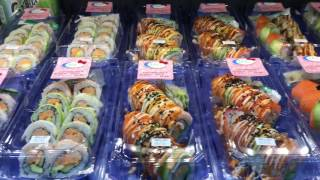 Frech Sushi at Kroger Nashville Tennessee ( Practice video edit with imovie)