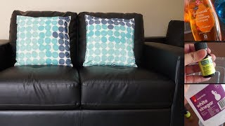 3 EASY Ways To Clean Sofa At Home In Hindi | Clean and Disinfect | Leather & Fabric Tips