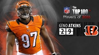 #29: Geno Atkins: (DT, Bengals) | Top 100 NFL Players of 2016