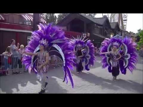 Mardi Gras Parade - Attractiepark Slagharen (July 19, 2014)