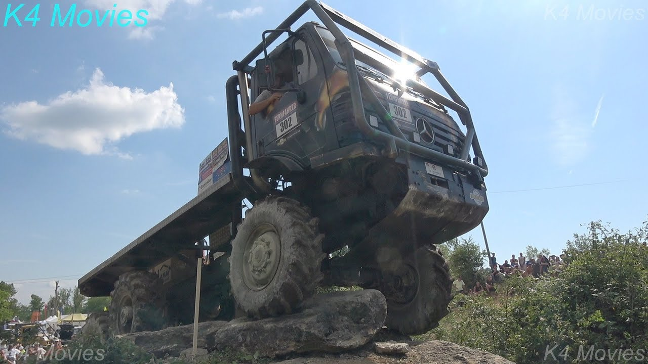 6x6 Mercedes Benz Truck | Europe Truck Trial