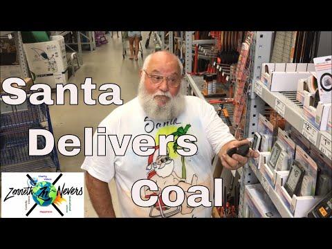 Naughty Santa Sketch Comedy - Santa on Vacation with Bloopers