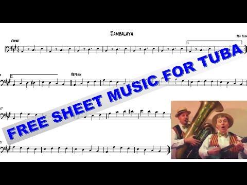 Free Sheet Music For Tuba - Jambalaya
