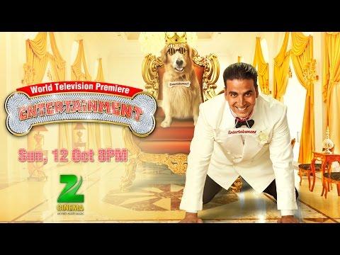 Catch TV Premiere of Movie Entertainment on Zee Cinema  12 Oct 8PM