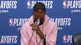Kevin Durant Postgame Interview - Game 3 | Warriors vs Clippers | 2019 NBA Playoffs